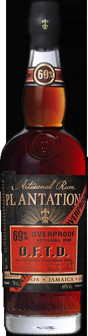 Plantation O.F.T.D. Overproof 70 cl