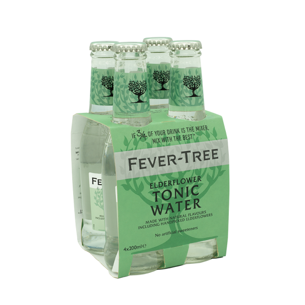 Fever Tree ElderflowerPack 4x20