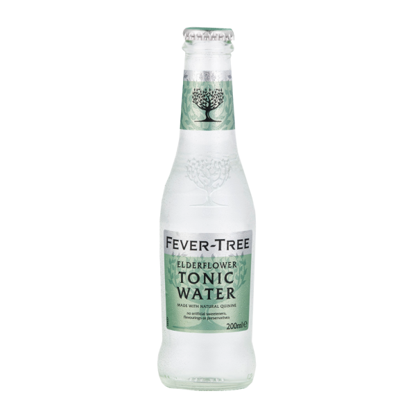 Fever Free Elderflower Tonic Water 20cl