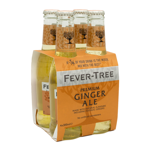 Fever-Tree Premium Ginger Ale Pack 4x20 cl