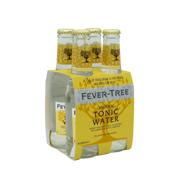 Fever-Tree Premium Indian Pack 4x20 cl
