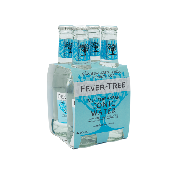 Fever Tree Mediterranean Pack 4x20