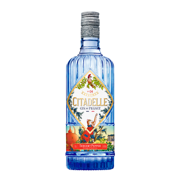 dry gin citadelle extremes sergent pepper